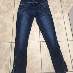 Express skinny jeans, size 0